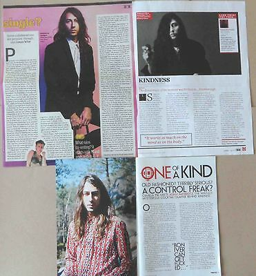 KINDNESS : CUTTINGS COLLECTION -interviews-