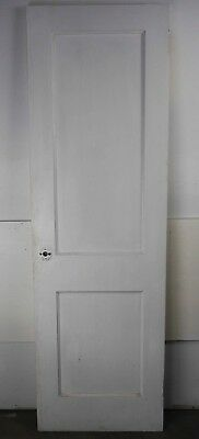 "Antique Vintage 2 Panel Interior Door 23-7/8"" X 76-1/4"" (K2) 1950's Local Pickup"