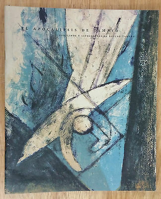 "Art Catalog ""el Apocalipsis De Tamayo"" Rufino Tamayo Exhibition Mexico Arte Arts"