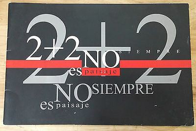 "Art Catalog ""2+2 No Siempre Es Paisaje"" Exhibition Pinar Del Rio Art Cuba Arte"