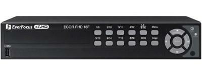 EverFocus ECOR FHD Series 16 channel DVR No hard drive