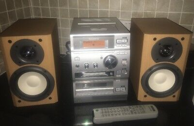 Sony Minidisc/CD Stereo System CMT-CP500MD