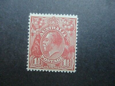 KGV Stamps (Mint): S/M WMK P13.5 - Singles -  Must Have! (C1229)