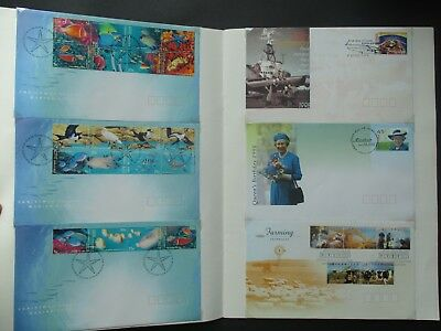 ESTATE: Australia RECENT FDC cover collection in book - great item   (5969)