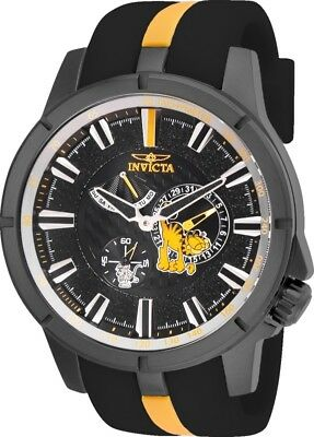 Invicta 25137 Character Collection Men's 49mm Gunmetal Steel Grey Dial Watch