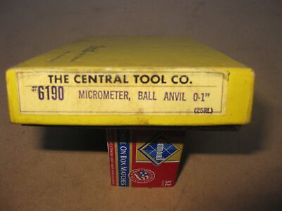 MICROMETER Ball Anvil milling mechanical boxed - made in China