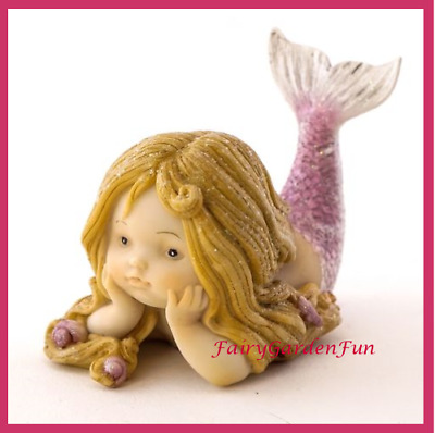 Fairy Garden Fun Little Mermaid Figurine Mini Dollhouse TC4675