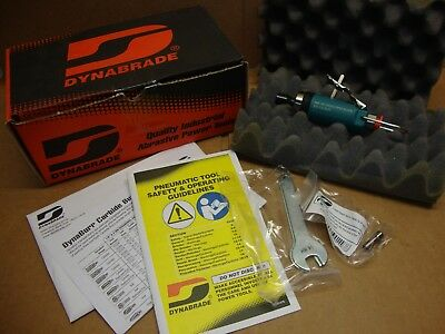 NEW Dynabrade 52202 .4 hp Straight-Line Die Grinder 30,000-RPM Front Exhaust
