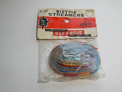 Antique bicycle streamers New Old Stock