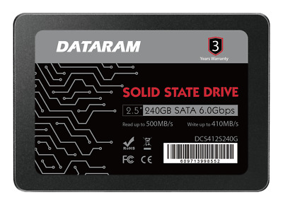 """DATARAM 240GB 2.5"""" SATA 6.0 Gbps  2.5"""" SSD FOR APPLE MACBOOK  AND MACBOOK PRO"""