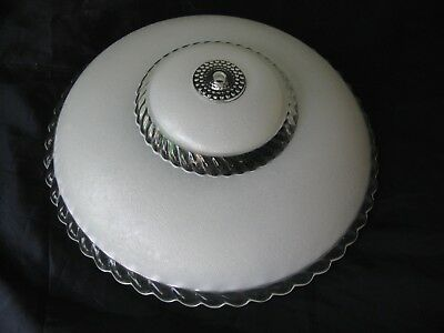 """Vintage~Ceiling Light Fixture Decorative Frosted Glass Globe Shade Cover~11 1/2"""""""
