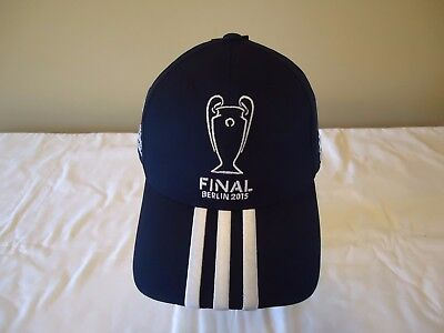 Adidas Official Licensed Adults Ucl Final Berlin  Hat 2015 New