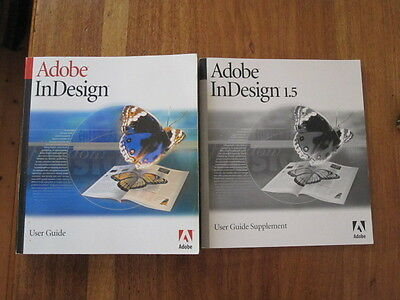 Adobe InDesign User Guide plus supplement