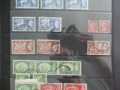 ESTATE: Old World UK high Value on hagners - massive catalogue value  (6080)