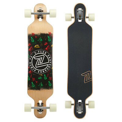"Z-Flex Island Time Drop-Thru Longboard Complete 41.5"" RRP: $209"
