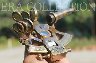 4 Inches Antique Sextant Nautical Marine Instrument Astrolabe Maritime Ships