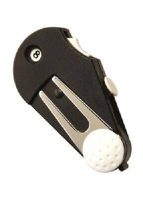 Golf Caddy-Tool 5 in 1 Multi Golfzubehör Pitchgabel Ballmarker Golfshop günstig