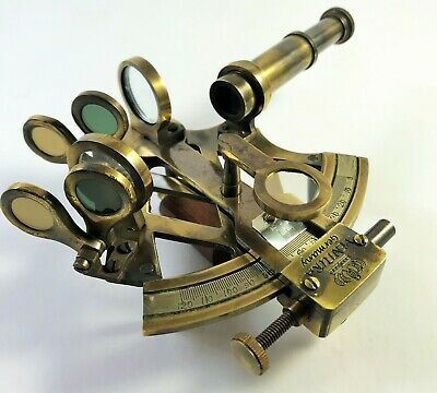 3 Inches Solid Brass Nautical Sextant Handmade Vintage Sextant Ship Instrument