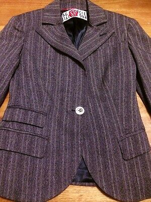 Rag Recycle Jacket Size 10 Made In Italy blazer Suit Work office Bnwot Pick5 5%