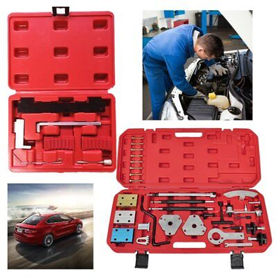 Timing Locking Tool Crankshaft Engine Alignment Camshaft Tool Kit W/case
