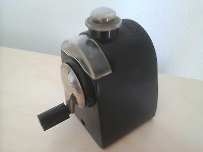 Dahle 333 Secapunta Made In Germany Metal Y Negro Pencil Sharpener Originale
