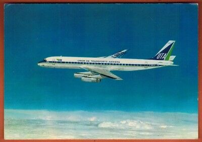 Carte Postale - Aviation - Douglas Super Dc8-62 - En  Vol - UTA