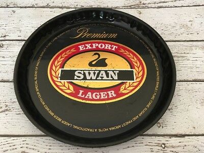 1970's Swan Lager Drinks Tray