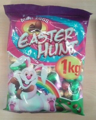Mini Chocolate Easter Eggs (1kg)