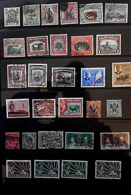 14 North Borneo Mint & used collection. Nice range 3 pages