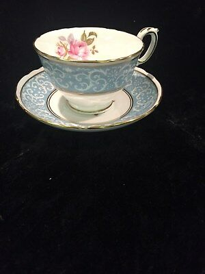 Vintage Crown Staffordshire Fine Bone China Cup and Saucer A16155