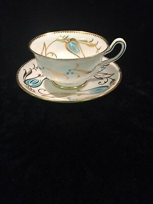 Vintage Royal Chelsea English Bone China Cup and Saucer 331A