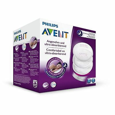 Philips AVENT Disposable 40x Breast Pads Night Ultra Dry Overnight Protection