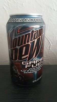 2008 Mountain Dew Game Fuel Halo 3 Limited Edition Empty Can No Puncture Holes