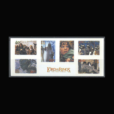 New Zealand, Sc #1761a, MNH, 2001, S/S, Lord of the Rings, CL044F