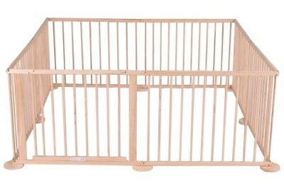 6 Sided Wooden Baby/Toddler Play Pen *see all pictures*