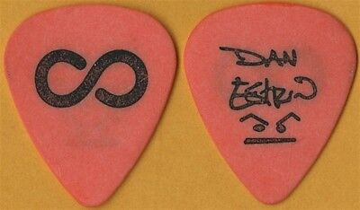 Hoobastank Dan Estrin authentic 2003 concert tour signature Guitar Pick - orange