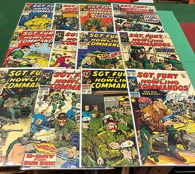 SGT. Fury and his Howling Commandos 1968 complete year