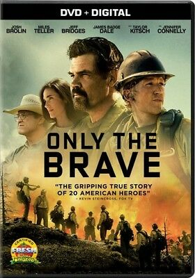 Only the Brave (DVD,2017)