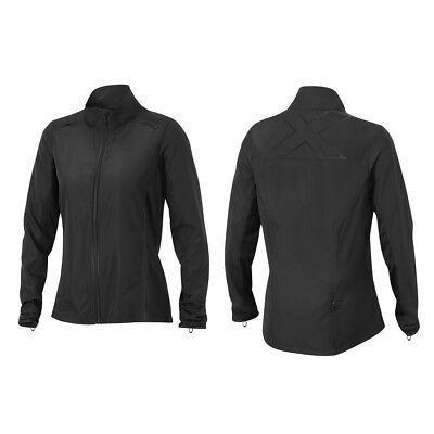 2XU Women's Hyoptik Jacket Black/Black L
