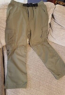 Boy Scout Switchback Pants Youth size Medium Relaxed fit