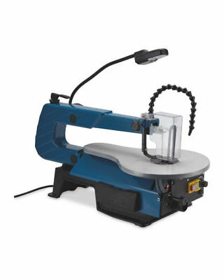 Electric 120W Scroll Saw With Variable Speed, LED Work Light 240v UK Plug