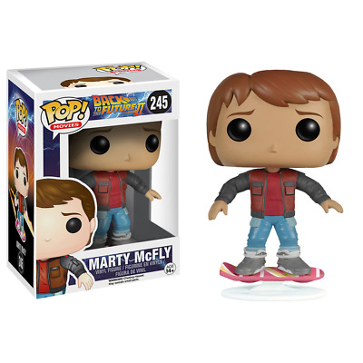 Funko POP! Movies - Back To The Future #245 Marty McFly on Hoverboard
