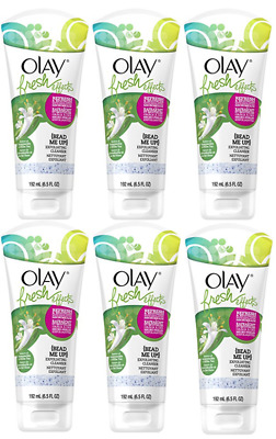 Olay Fresh Effects Bead Me Up Exfoliating Cleanser Honeysuckle 6.5 oz Lot of 6