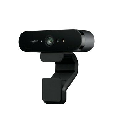 Logitech Business BRIO 4K ULTRA HD USB Video Conferencing Streaming Webcam  NEW