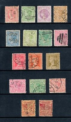 Victoria - 16 x Stamp Duty Selection, Fine Used