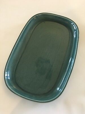 VINTAGE RUSSEL WRIGHT LARGE 13.5 inch SERVING PLATTER SEAFOAM GREEN - MINT