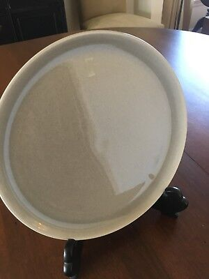 Russel Wright Steubenville Gray 10 inch Dinner Plate Excellent Condition