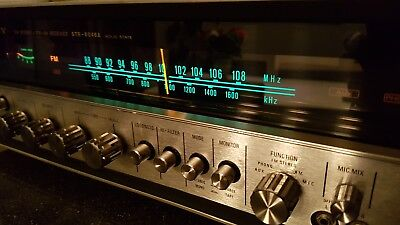 Vintage 1971 SONY STR-6046A AM/FM Stereo Receiver SERVICED and FULLY WORKING