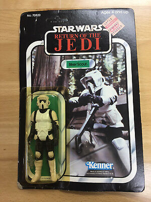 Star Wars Return of the Jedi Figure Biker Scout Unopened MOC Kenner Rare 1983