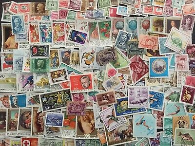 Large Lot Hungary Magyar Posta Stamps All Different Used